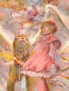 Clear Card, Cardcaptor Sakura, Cards, Painting, Painting Art, Paintings, Maps, Painted Canvas, Playing Cards