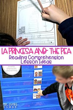 Close reading lesson plans for La Princesa and the Pea. Engaging lessons to build reading comprehension skills. Story retelling, inferring, making connections, and more! #laprincesaandthepea #readingcomprehension #readinglessonplans #kindergarten #firstgrade #secondgrade