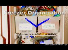 Easy Freezer Organization