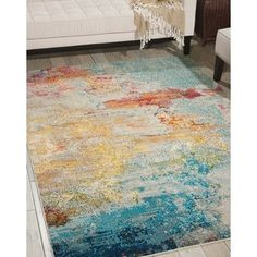 Shop for Nourison Celestial Sealife Rug (7'10 x 10'6). Get free shipping at Overstock.com - Your Online Home Decor Outlet Store! Get 5% in rewards with Club O!
