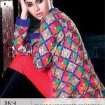 Gul Ahmed Single Embroidered Winter Collection 2014
