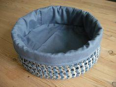 Crocheted Poptab Breadbasket - CROCHET