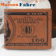 $2.52 (Buy here: https://alitems.com/g/1e8d114494ebda23ff8b16525dc3e8/?i=5&ulp=https%3A%2F%2Fwww.aliexpress.com%2Fitem%2FBrand-new-2015-unisex-US-Dollar-Bill-Wallet-Brown-PU-Leather-Wallet-Bifold-Credit-Card-Photo%2F32385577650.html ) Brand new 2015 unisex US Dollar Bill Wallet Brown PU Leather Wallet Bifold Credit Card Photo for women men for just $2.52