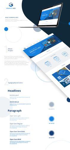 Graphic Hex - Website on Behance