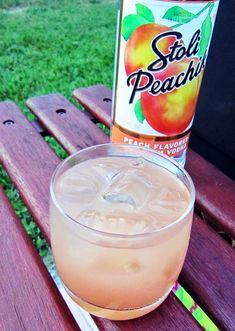 Frugal In Florida: Peach Vodka Seabreeze Peach Vodka Drinks, Peach Martini, Vodka Martini, Vodka Cocktails, Alcoholic Drinks, Beverages, Stoli Vodka, Skyy Vodka, Margaritas