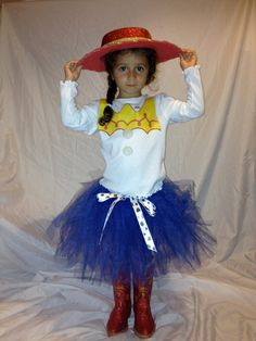 Toy Story Jessie costume for toddler. Hand made. Any size.. $45.99, via Etsy.