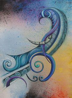 Legend Tahi Print By Reina Cottier