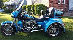 eBay: 2011 Harley-Davidson Touring Ultraglide Trike -- lots of chrome #harleydavidson