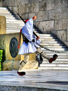 Tsolias, Royal/Parliment Guard Athens, Greece