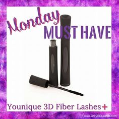 Younique Moodstruck 3D Fiber Lashes➕ Mascara Monday must have www.Greyt3DLashes.com