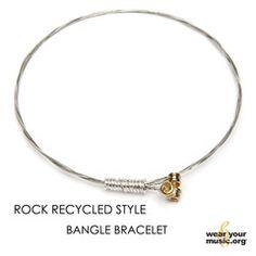John Mayer Guitar String Bracelet