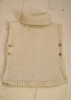 """*** This listing is only a PDF PATTERN in ENGLISH and not a finished product *** This is a crochet pattern for simple poncho Scarlett. The poncho has a ribbed collar and it fastens with buttons on sides, the edges make cute cap sleeves. Cute garment for a little boy or girl to wear on colder days. Sizes: 12-24m/3-5y/6-10y Finished measurements about (width across x height): 12-24m is 16.1"""" x 15.5"""" (41 x 39 cm) 3-5y is 16.1"""" x 18.1"""" (41 x 46 cm) 6-10y is 18.1"""" x 20.5"""" (46 x 52 cm) Skill le..."""