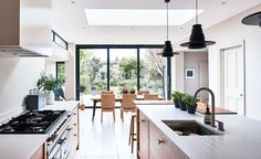 After waiting for their dream property to go up for sale, Marika and James Frost added a rear extension to create a clever contrast between old and new