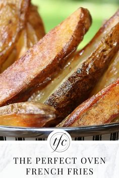 The Perfect Oven French Fries Recipe | Healthy Fries | Gluten-Free Recipe |