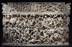 Palazzo Massimo - Sarcofago di Portonaccio #TuscanyAgriturismoGiratola.S.II. Antoninos.