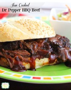 Slow Cooked Dr Pepper Barbecue Beef Recipe on Yummly. @yummly #recipe