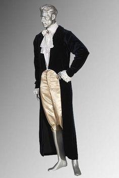 Victorian or Regency Style Long Tailcoat Frock Handmade from Velvet and Lined | eBay