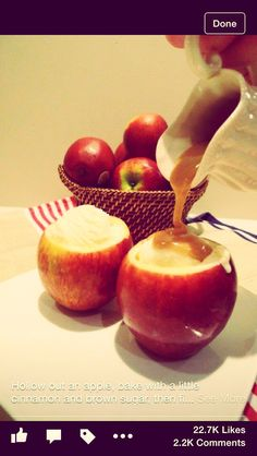Caramel Apple à LaMode #Food #Drink #Trusper #Tip