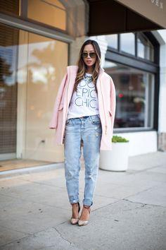 song-of-style-pink-coat pink cocoon coat #doepicchic  song of style #doepicchic available at http://www.eluxe.ca/en/songofstyle.html