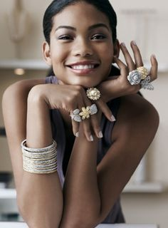 Chanel Iman for Nordstrom. YA Young adult character inspiration, fantasy, science fiction