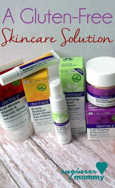 A Gluten-Free Skincare Solution! Effective, high-quality products! Click for coupon code! @dermae @brandbacker #sp