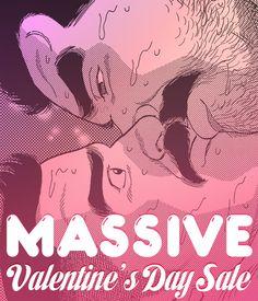 Gay Manga! — MASSIVEis having a Valentine's Day sale! Use...