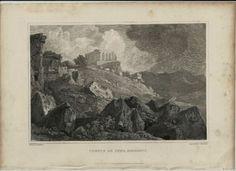 1821-MAJOR-LIGHT-SICILIA-INCISIONE-TEMPIO-DI-GIUNONE-AGRIGENTO-DA-P-DE-WINT