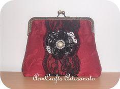 Lovely Vintage Lace Purse <3 <3