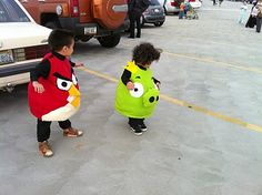 cute kids angry birds costumes