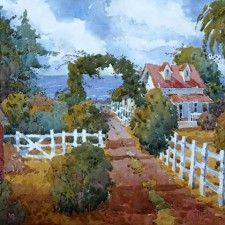 Watercolor by Joyce Hicks