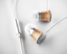 Meze 11 Deco - wood and aluminum earphones by Antonio Meze, via Behance