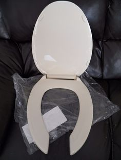 plastic toilet seat covers. OLSONITE Toilet Seat Cover Open Front Elongated Bone Ivory HD Commercial  Bowl Plumb Pak Plastic Hinge Bolts Plumbing