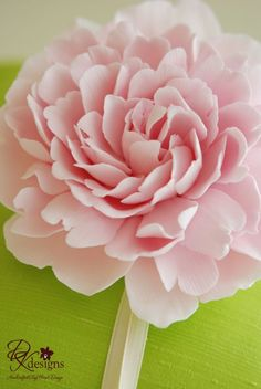 polymer clay flower for wedding cakes or hair corages etc