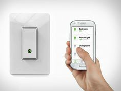 Turn your home lighting on or off from anywhere using your Android smartphone, iPhone, iPad, or iPod touch with the Belkin Wi-Fi enabled WeMo Light Switch. This light switch is designed to replace existing light switches for do-it-yourself installation and works with your existing home Wi-Fi network.