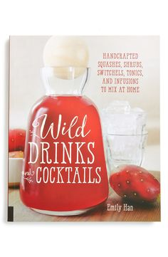 Create delicious handcrafted drinks and cocktails using fresh ingredients with this delightful recipe book.
