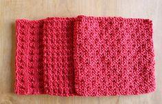 knitting pattern dish cloth