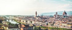 Florence, Italie, Ciel, Eglise, Tuscany, Panorama