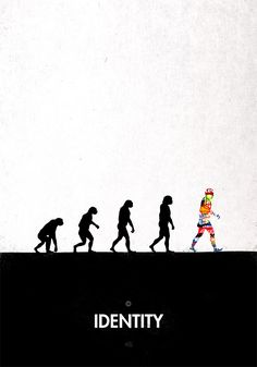 """Our first project, 99 Steps of Progress, is a serie of 99 illustrations parodying the famous """"March of Progress"""" (that drawing synthesizing human evolution). Charles Darwin, Evolution Cartoon, Caricature, 99 Steps, Banksy Graffiti, Sketch Tattoo Design, Cartoon Jokes, Sketch Inspiration, Graphic Design Illustration"""