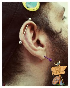 Industrial Piercing by Granlit Facebook : https://www.facebook.com/granlitpiercing/ Instagram : https://www.instagram.com/granlit/ Twitter : https://twitter.com/Granlit DeviantArt : http://granlit.deviantart.com/ Google+ : https://plus.google.com/u/0/+GranlitThunderbeer/posts?hl=el  #piercing #piercings #tattoo  #granlitpiercing #granlit #thunderbeer #granlitthunderbeer #bodyart #industrial #industrialpiercing