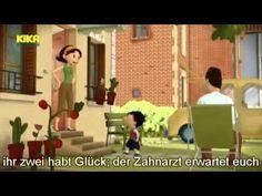 aprende alemán.der kleine Nick. Beim Zahnarzt.nivel b2.learn german (sub...