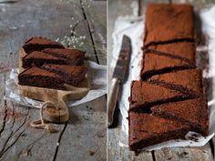 Schokoladige gesunde Brownies mit verrückten Zutaten