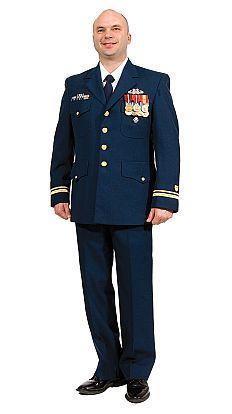 Coast Guard Dress Uniform: Officer