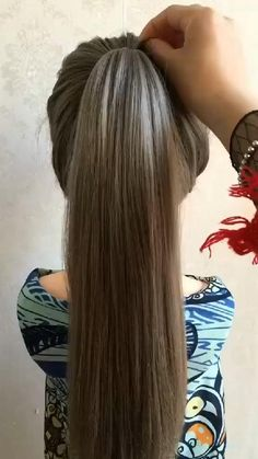 Easy Hairstyles For Long Hair, Braids For Long Hair, Cute Hairstyles, Wedding Hairstyles, Braided Hairstyles Tutorials, Messy Ponytail Hairstyles, Bun Tutorials, Headband Hairstyles, Summer Hairstyles