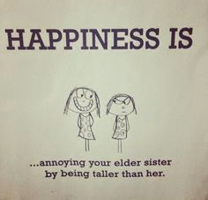 Birthday message for sister Ideas Happy Birthday Elder Sister, Sister Birthday Quotes Funny, Birthday Messages For Sister, Little Sister Quotes, Message For Sister, Sister Poems, Brother Sister Quotes, Love My Sister, Funny Girl Quotes