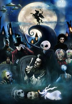 Fan Art Friday: The Nightmare Before Christmas by techgnotic on DeviantArt