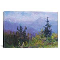 Red Barrel Studio Bridges of Carpathians Painting Print on Wrapped Canvas Size: