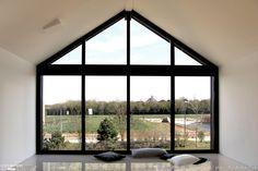 Maison ossature bois à Chessy, PYZ ARCHITECTURE - Côté Maison
