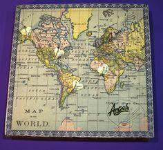 Diverteix-te marcant en aquest mapamundi tots els llocs que has visitat i t'han deixat empremta, utilitzant l'Scrap i una mica d'imaginació.  Crea i completa la teva col·lecció!