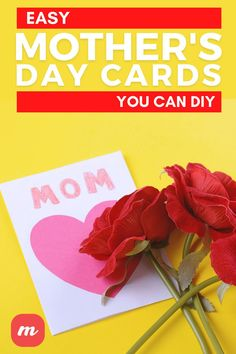 Having a hard time finding the perfect card to give your mom for her special day?This year, why not skip the generic, store-bought cards all together and try making one on your own. Mothers will love the effort you put into crafting a homemade card, while kids will enjoy the chance to get creative and make something truly special. We've rounded up our favorite DIY Mother's Day cards that are sure to put a smile on mom's face. Diy Home Crafts, Crafts To Make, Origami Letter, Paper Medallions, Interactive Cards, Love You Mom, Mother's Day Diy, Bird Cards, Heart Cards