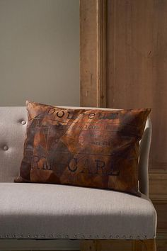 RM Care Leather Pillow 65x45